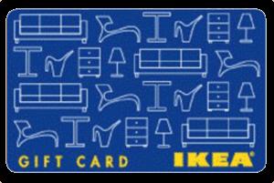 IKEAギフトカード