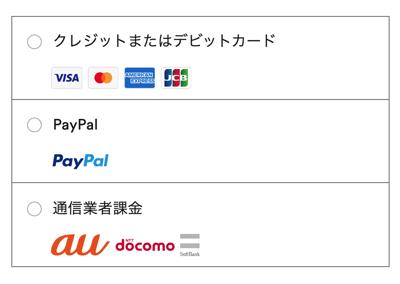 Spotify Premiumの支払い方法一覧