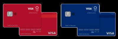 Visa LINE Payクレジットカード(オリンピックデザイン)