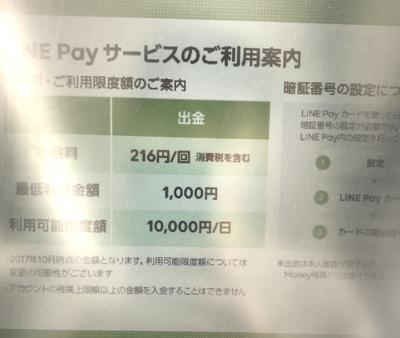 セブン銀行ATMから出金