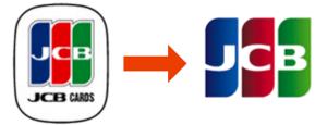 JCBのロゴの変更