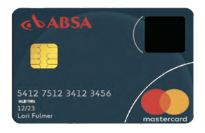 指紋認証機能付きMasterCard
