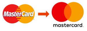 MasterCardのロゴの変更