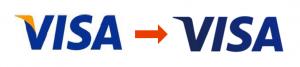 VISAのロゴの変更