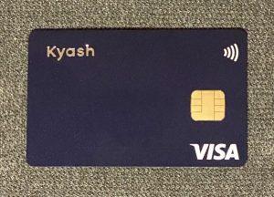 Kyash Card(実物)