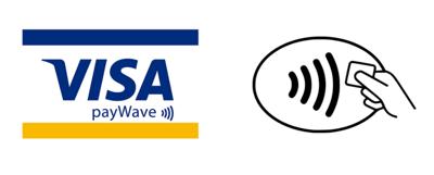 VISA PayWaveのアクセプタンスマーク