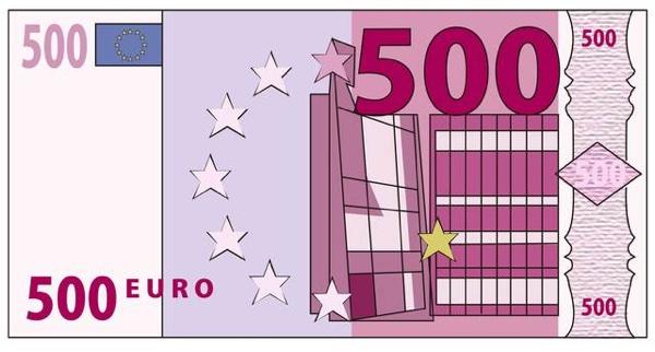 500ユーロ