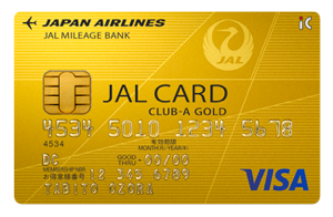 JAL CARD CLUB-A GOLD