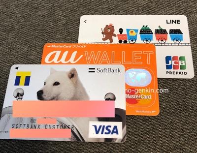 国際ブランド付き電子マネー(プリペイドカード)