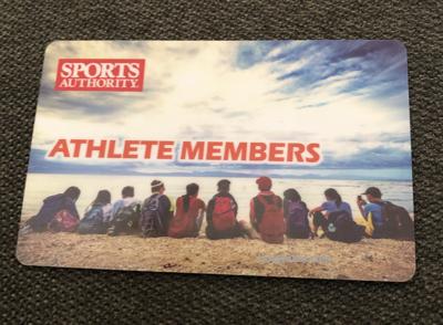 スポーツオーソリティ メンバーズカード