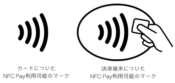 NFC Payのマーク