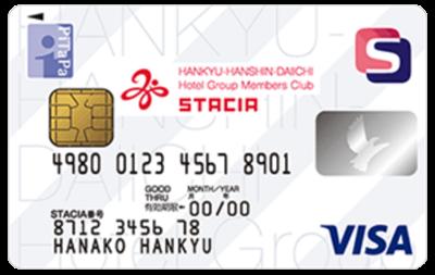 阪急阪神第一ホテルグループSTACIA PiTaPa VISAカード