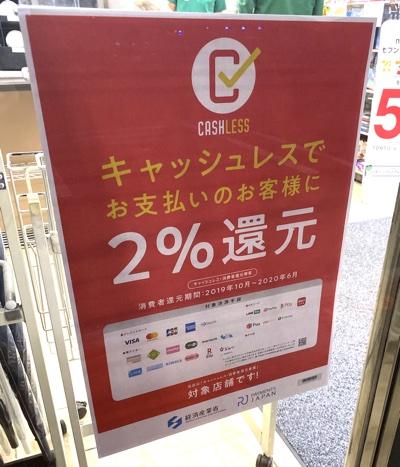 キャッシュレス・消費者還元事業(キャッシュレス・ポイント還元事業)のポスター