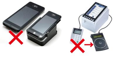 NFC決済使用不可