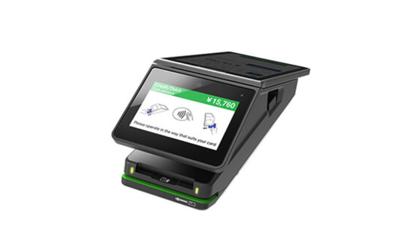 NFCの宣言が「クレジットで」の端末(Stera)
