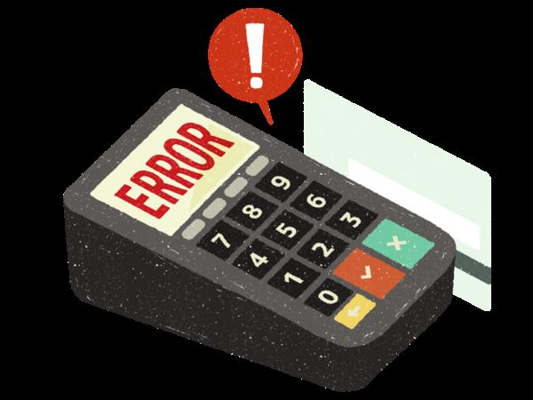 デビットカード・プリペイドカードの利用に注意が必要なケース